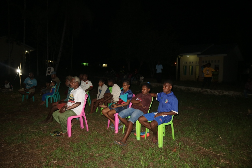 Film Screening in Mayamuk District in Sorong | Papuan Voices