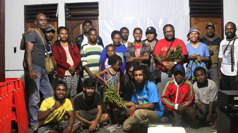 Screening of Papuan Film Festival Films in Keerom, Papua (August 2017)
