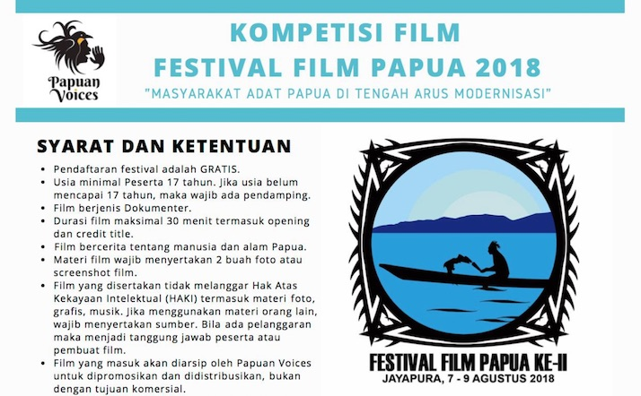 FFP 2018 Jayapura: Submission Deadline Extended Till July 14, 2018
