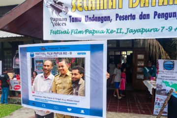 The Deputy Mayor of Papua Rustam Saru officially inaugurated the Festival Films Papua (FFP-II)