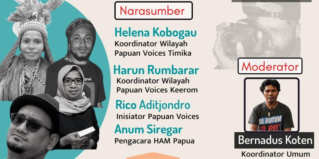 Webinar: Kebebasan Berekspresi dan Tantangan bagi Film Makers di Tanah Papua