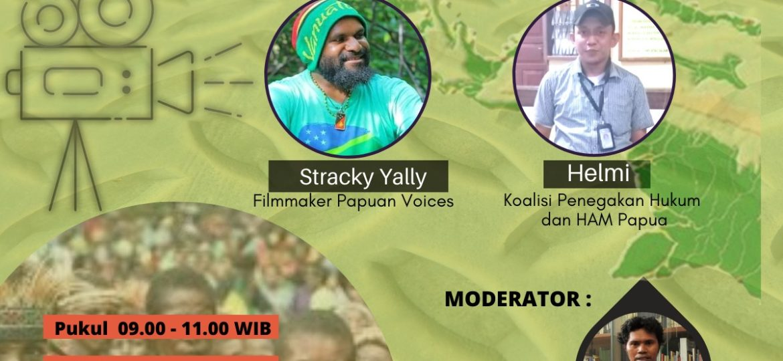 Webinar: Filmaker, Demokrasi dan HAM di Papua