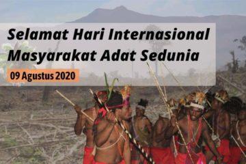 Hari Internasional Masyarakat Adat Sedunia 2020